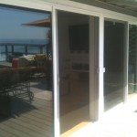 double patio sliding screen doors