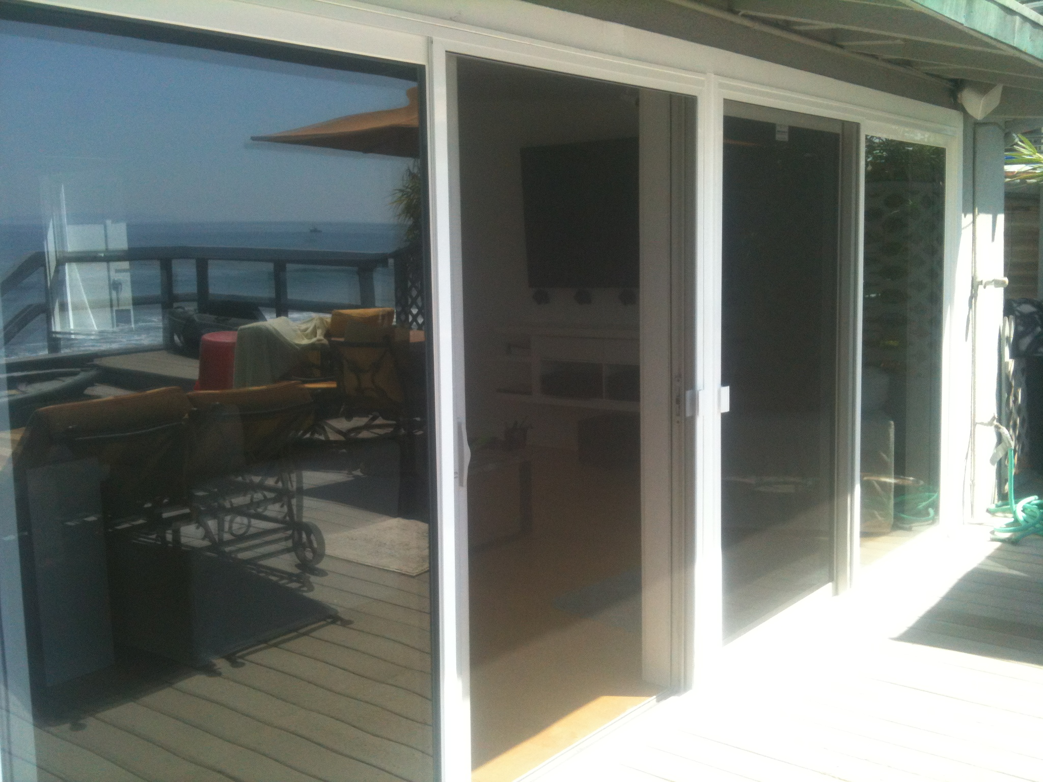 ... Double Patio Sliding Screen Doors