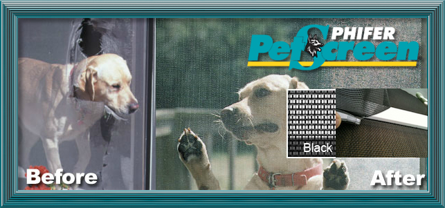 pet proof pet screen