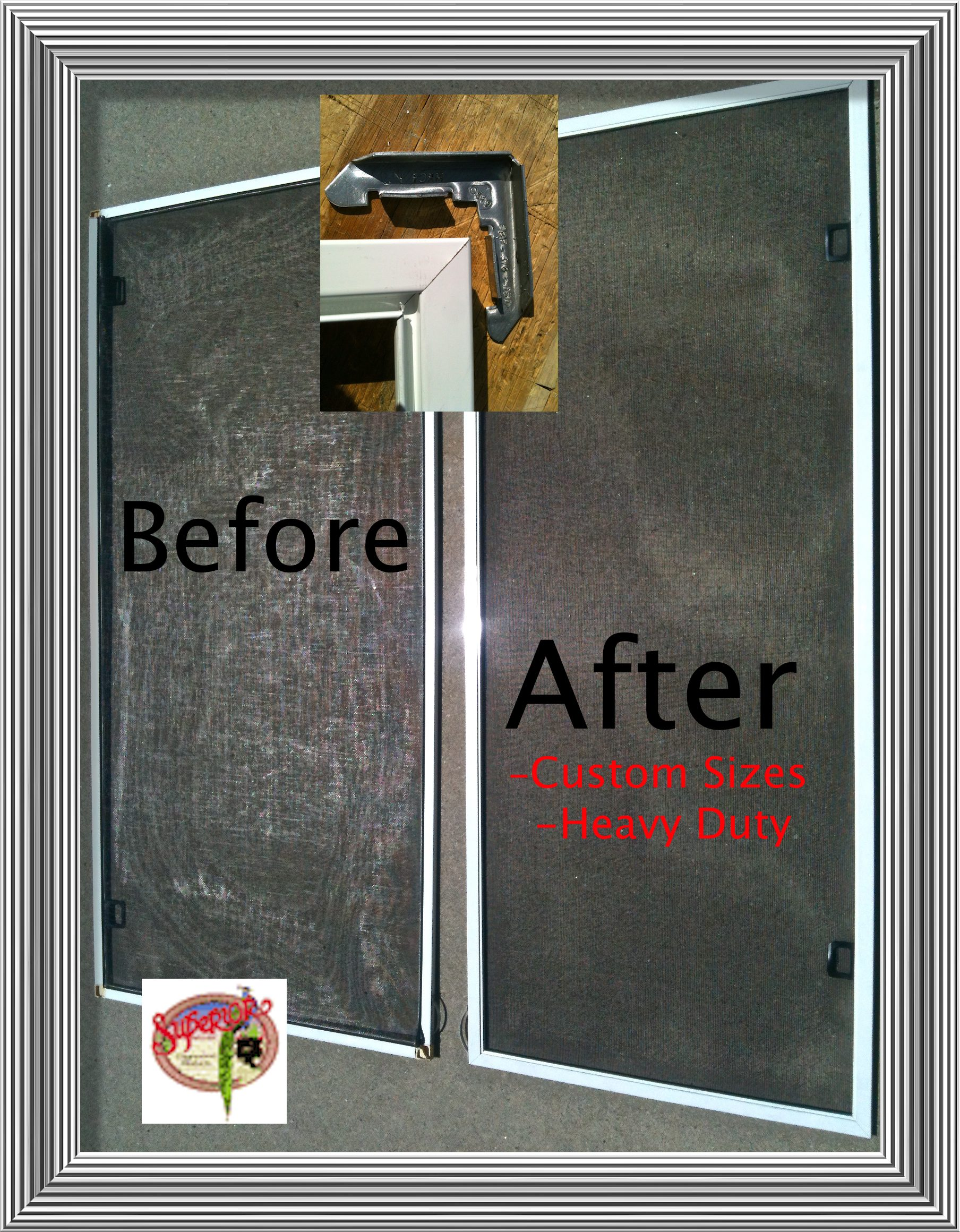 Rescreening door rescreening sliding screen door for Screen door replacement parts