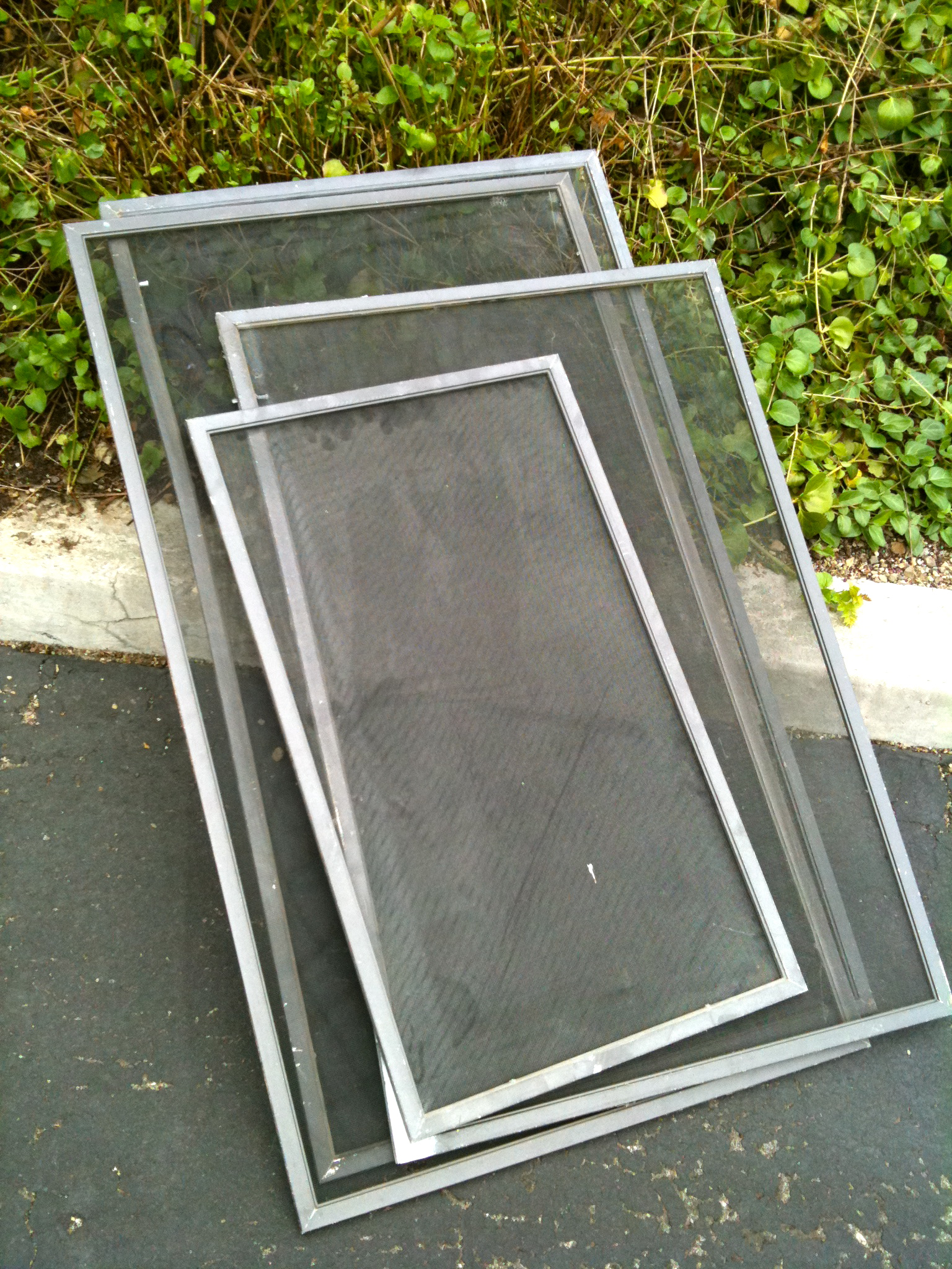 rescreening screen door and window screen repair and