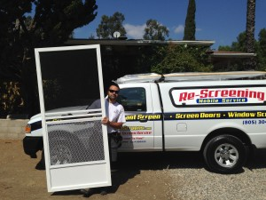 swinging screen doors mobile service