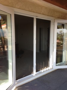 double french door retractable screen doors