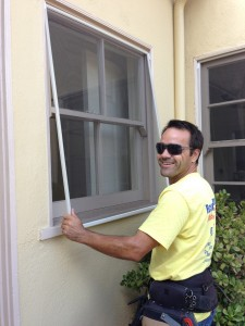 econo screens window screen install