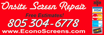 econoscreens.com screen doors