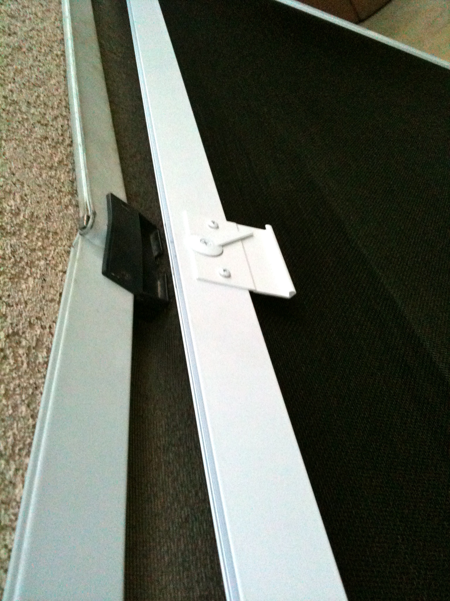 Screen door and window screen repair and replacement simi for Sliding screen door frame
