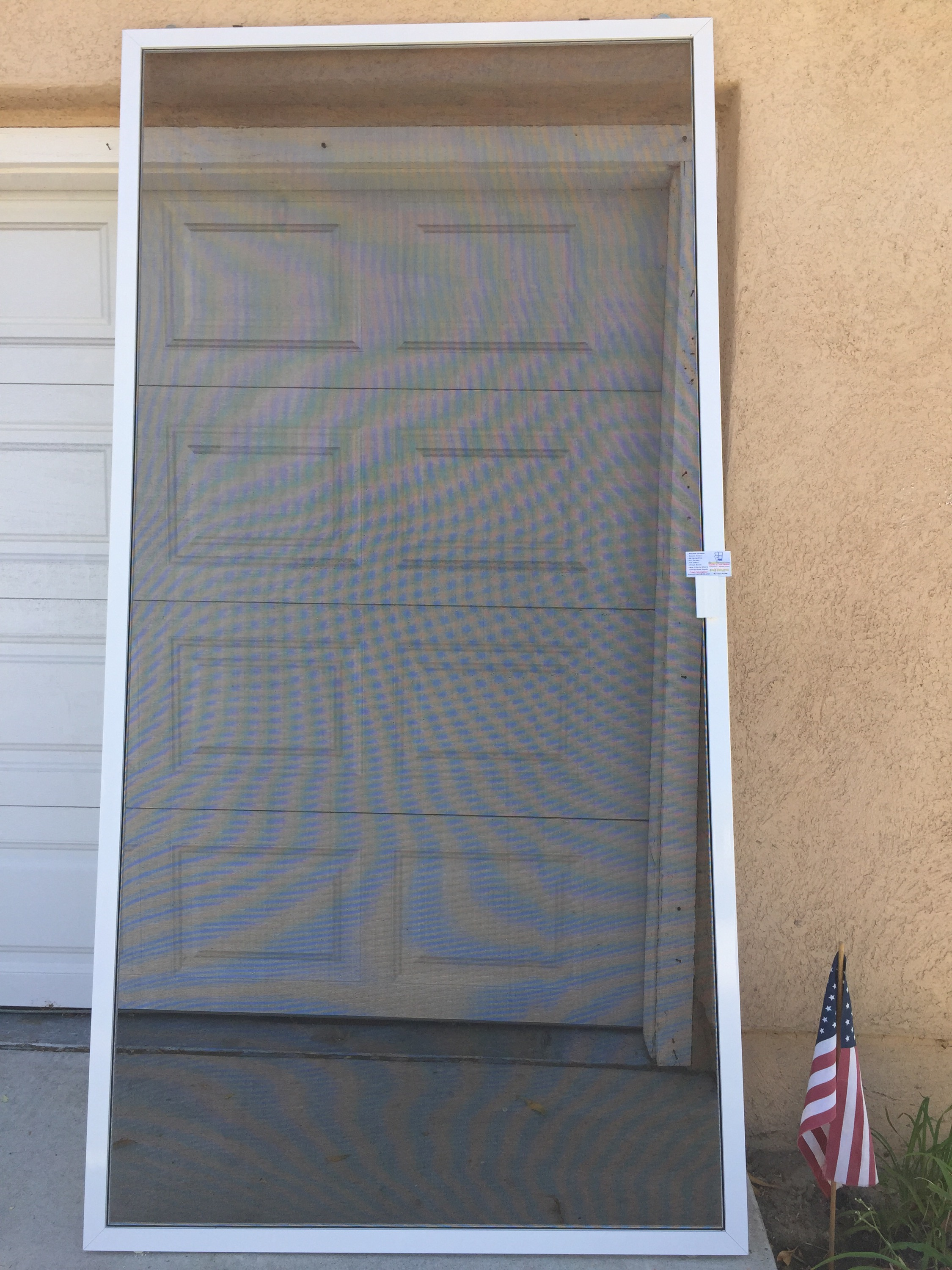 Screen doors camarillo for a totally missing sliding for Screen door window replacement
